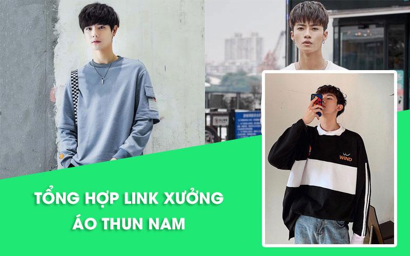 Nguồn hàng áo thun nam Quảng Châu