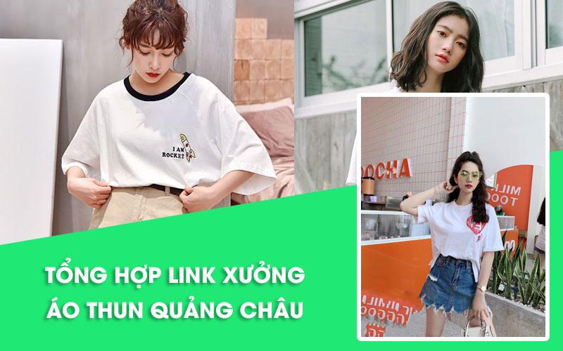 Nguồn hàng áo thun nữ Quảng Châu