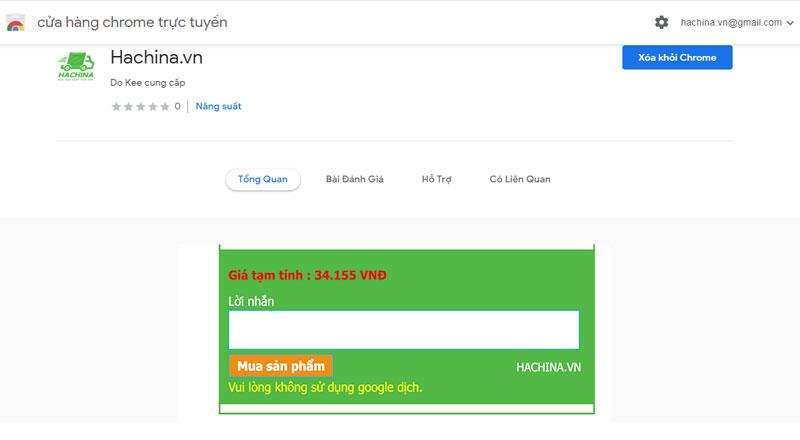 App đặt hàng Trung Quốc Hachina.vn