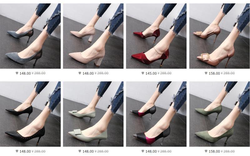 Nguồn hàng giày dép nữ