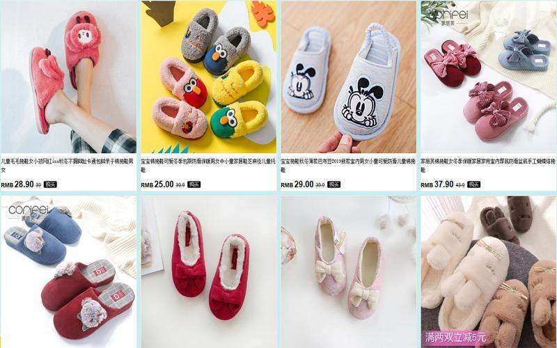 Nguồn hàng giày dép trẻ em