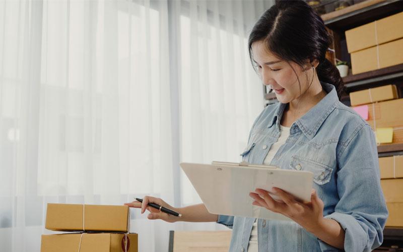 Thành công khi kinh doanh hàng Quảng Châu
