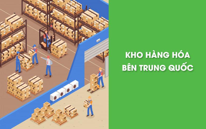 Xây dựng kho hàng bên Trung Quốc