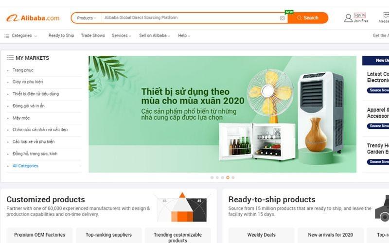 Website Alibaba
