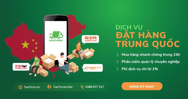 Dịch vụ mua hàng Trung Quốc Hachina