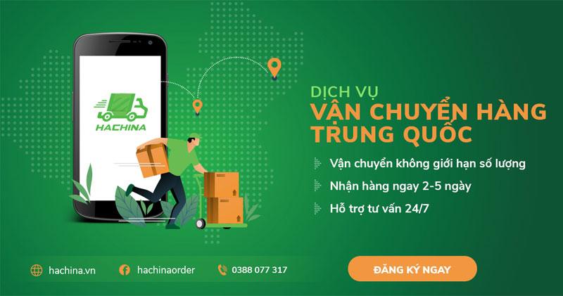 Dịch vụ vận chuyển Trung Việt Hachina