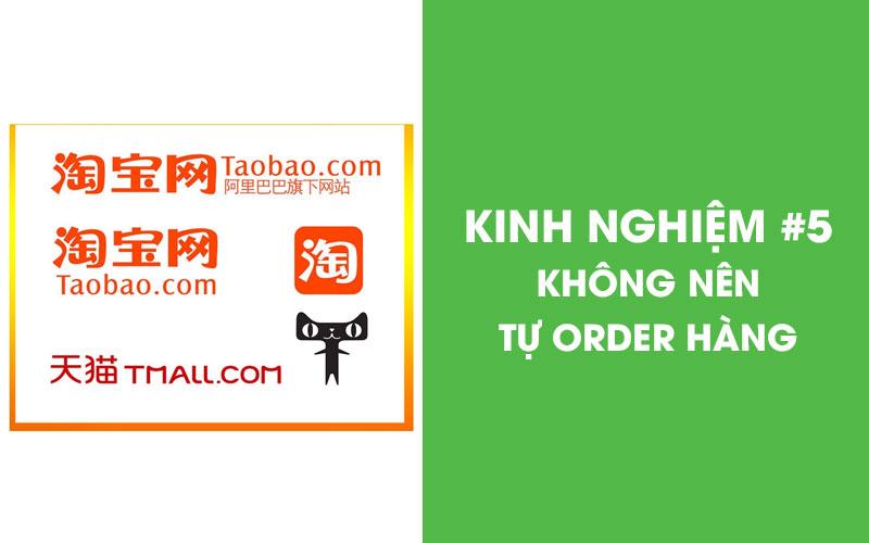 Không nên tự order hàng Quảng Châu online